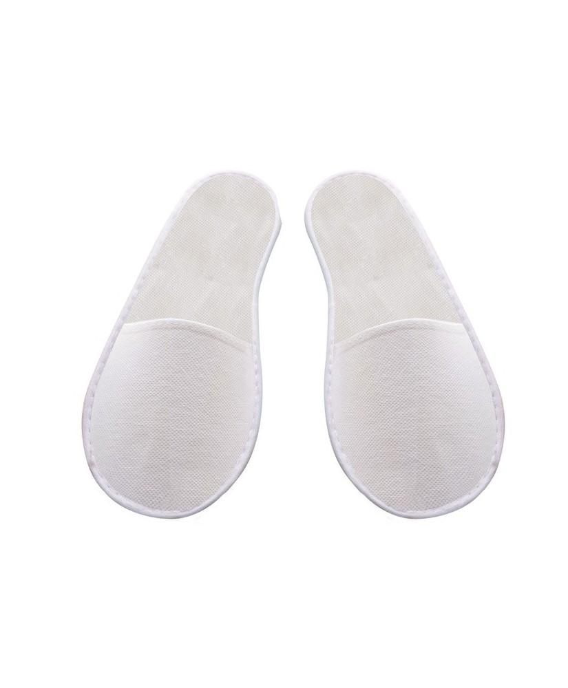Chaussons blanc non-tissés 10 paires